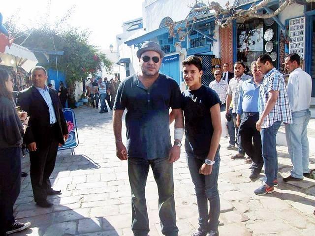 التونسيون في صور حصرية مع الملك محمد السادس