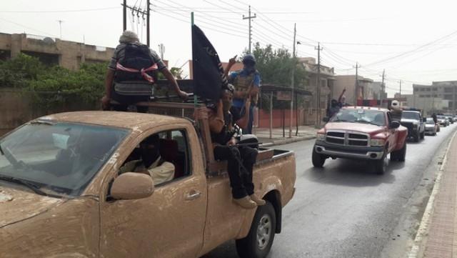 القوات العراقية تشن هجومات مضادة على داعش