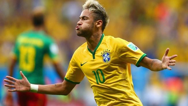 نيمار أفضل لاعب في لقاء البرازيل