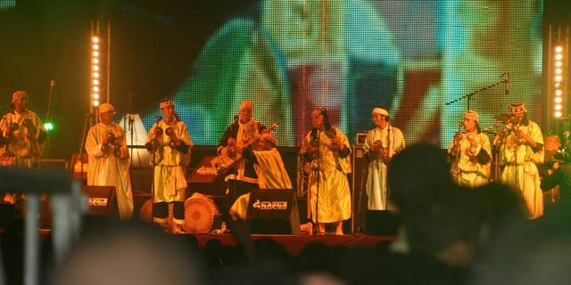 أصداء الأنغام الإفريقية تتردد في سماء مدينة الصويرة
