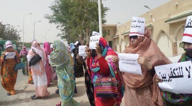تضامن واسع مع حقوقية موريتانية أفتى سلفي بقتلها