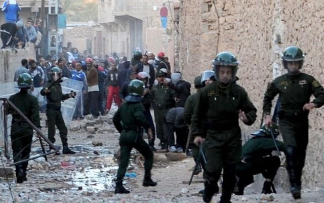 فشل جديد للسلطات الجزائرية: تجدد الاشتباكات في ولاية غرداية