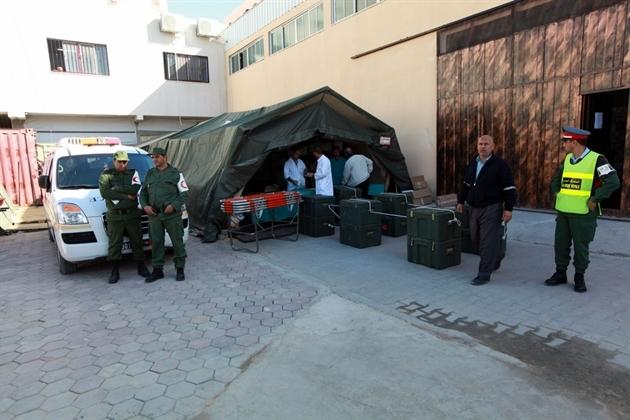 المغرب يرسل مساعدات إنسانية بقيمة 10 ملايين درهم إلى ساكنة قطاع غزة