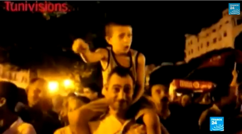 مسيرة ليلية بتونس ضد الإرهاب