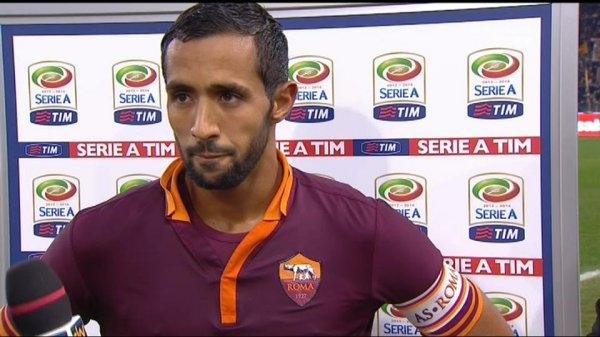 بنعطية يهدد نادي روما ويرفض تجديد عقده