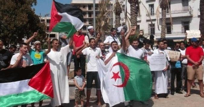 مناصرة غزة ممنوعة في العاصمة الجزائرية