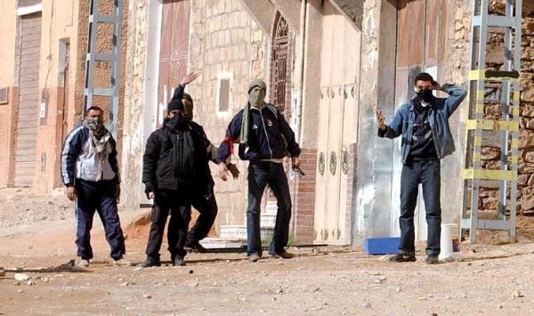 الجزائر:اعتقـالات وجـرحى في أعمال العـنف بغــرداية