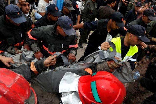 وفاة صاحب العمارة المنهارة في الدار البيضاء