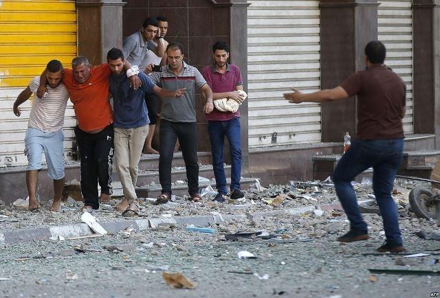 غزة..اسرائيل تقصف  مدرسة تابعة للأونروا