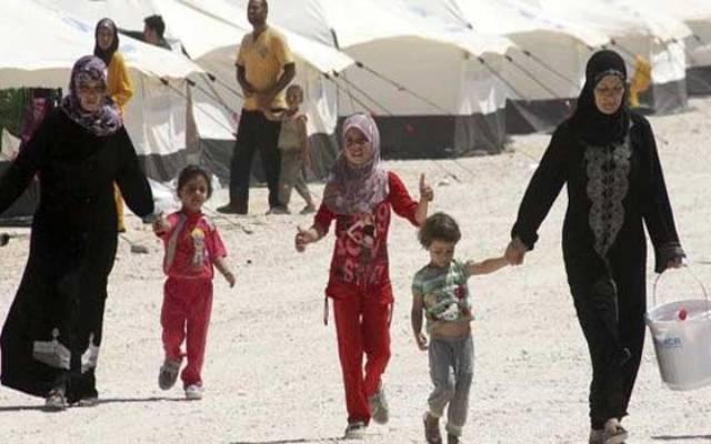 تقرير أممي : 145 ألف عائلة سورية لاجئة تعولها نساء