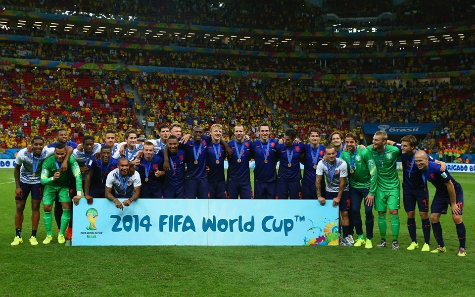 هولندا تحتل المركز الثالث في المونديال