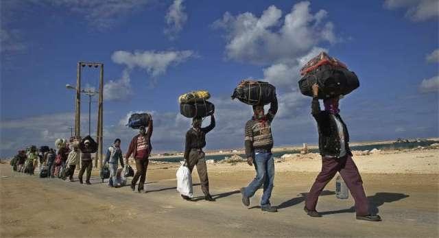 مقتل 23 عاملا مصريا في ليبيا