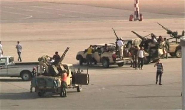 47 قتيلا حصيلة أسبوع من المواجهات بمطار طرابلس