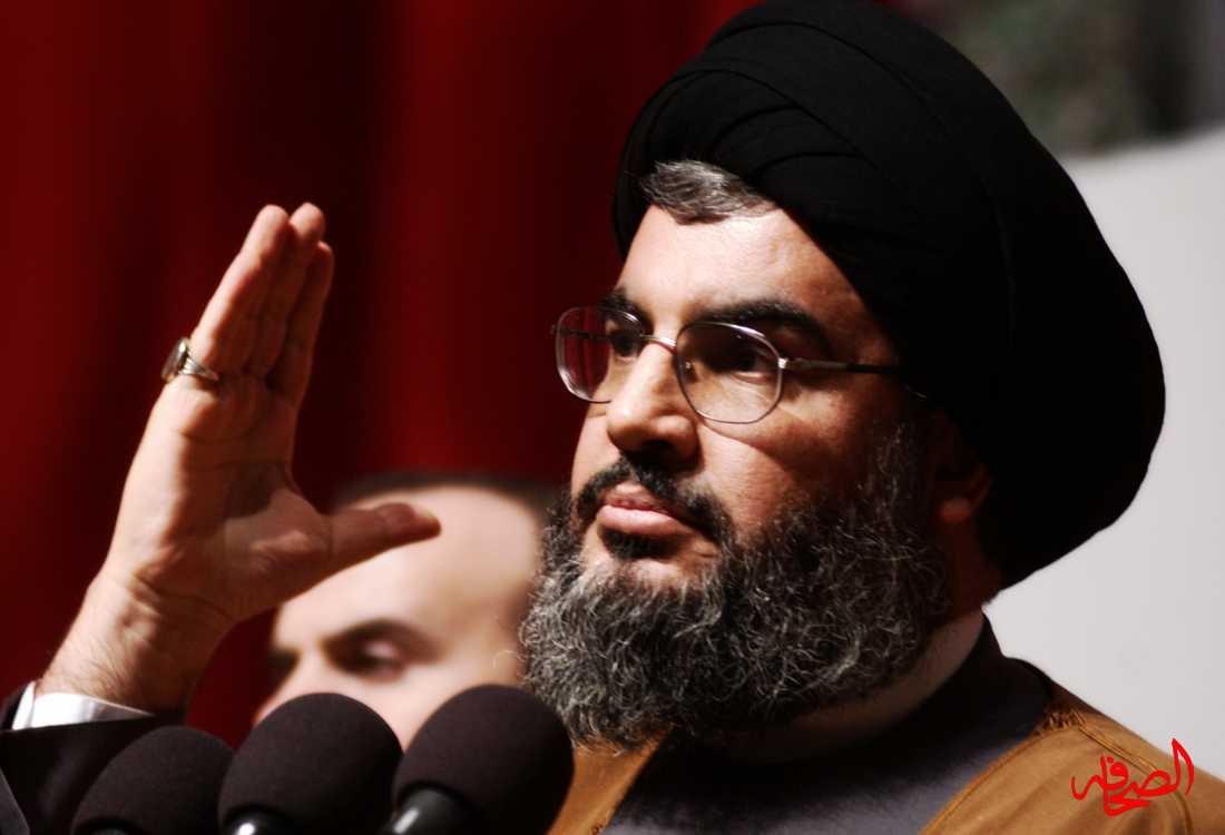 حسن نصر الله يعلن دعمه للمقاومة في غزة