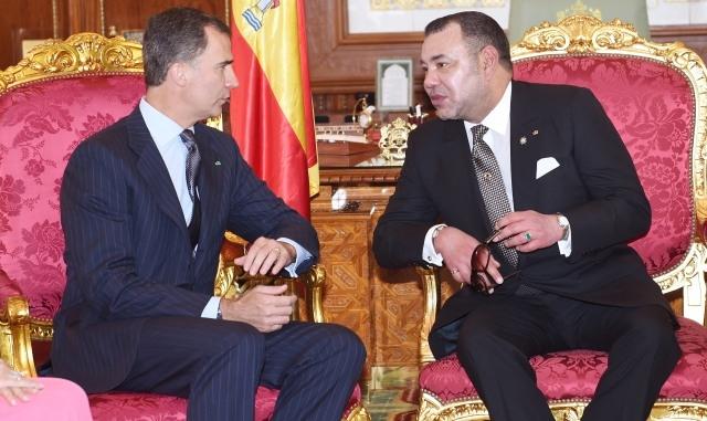 عاهلا اسبانيا يغادران المغرب في ختام زيارة رسمية للمملكة