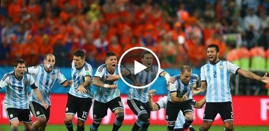 الارجنتين وهولندا 4-2
