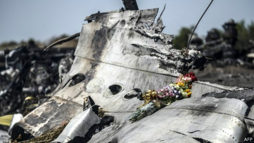 إسقاط الطائرة الماليزية في أوكرانيا
