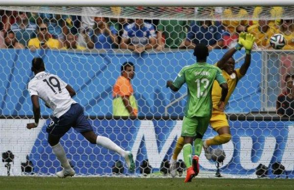 فرنسا تتأهل على حساب نيجيريا للربع