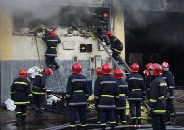 المغرب: حريق بثكنة عسكرية سببه تماس كهربائي