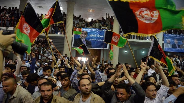 أزمة افغانية بعد النتائج الاولية لانتخابات الرئاسة