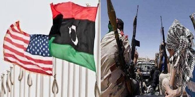 قوات المارينز تهرب موظفي السفارة الأمريكية بطرابلس نحو تونس