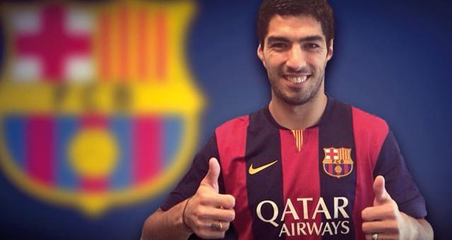 رسميا سواريز ببرشلونة لخمس سنوات