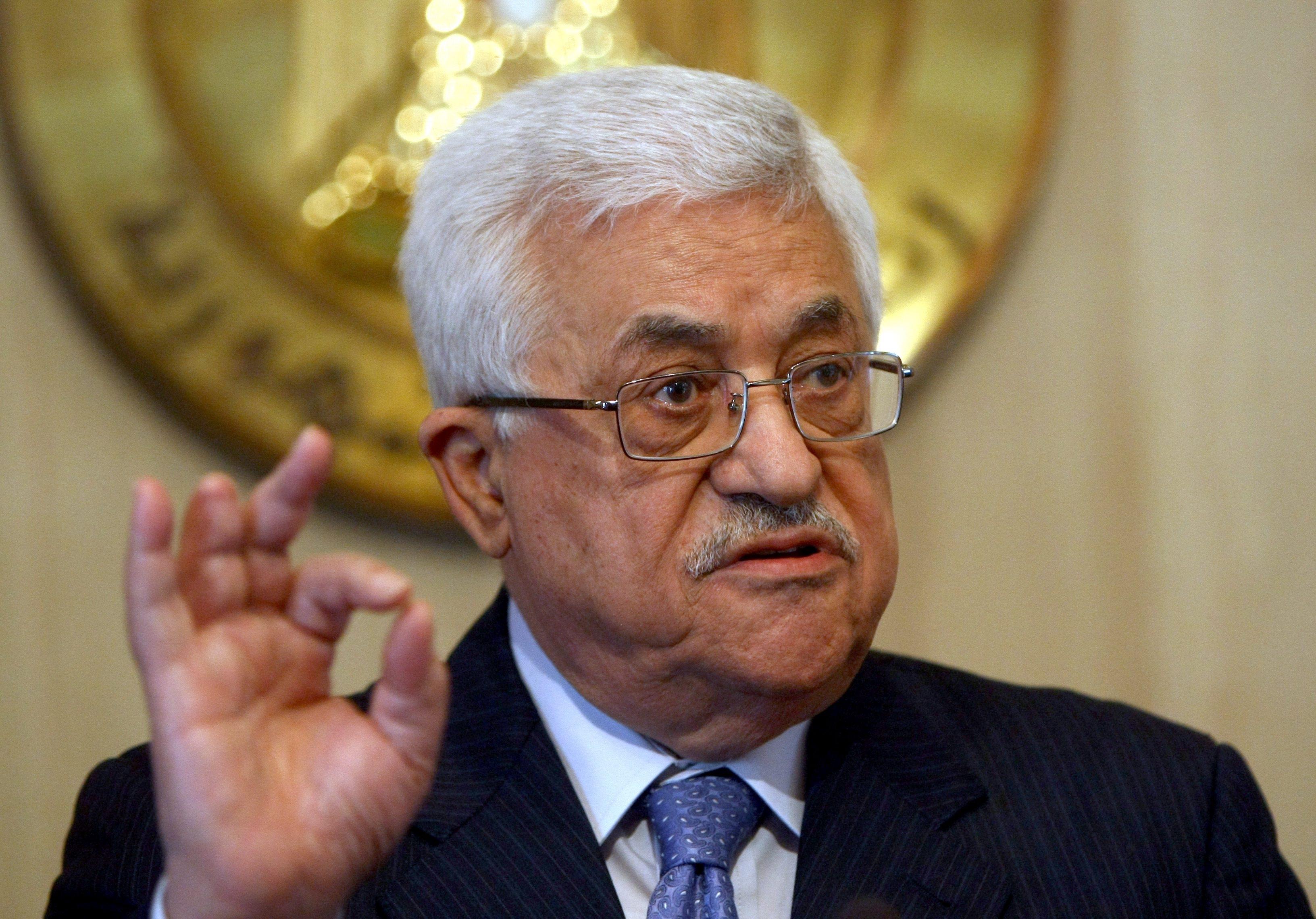 محمود عباس:ما تقوم به إسرائيل هو حرب إبادة
