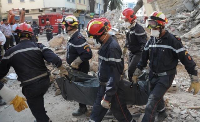 المغرب: عائلة تفقد 11 فردا في انهبار العمارات