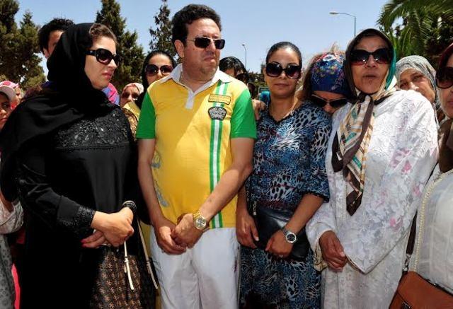الأسرة الفنية المغربية تشيع الممثلة أمل معروف إلى مثواها الأخير