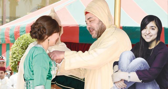 التلميذة المغربية التي صفق لها الملك محمد السادس تتحدث الريفية وتحلم بأن تصير طبيبة