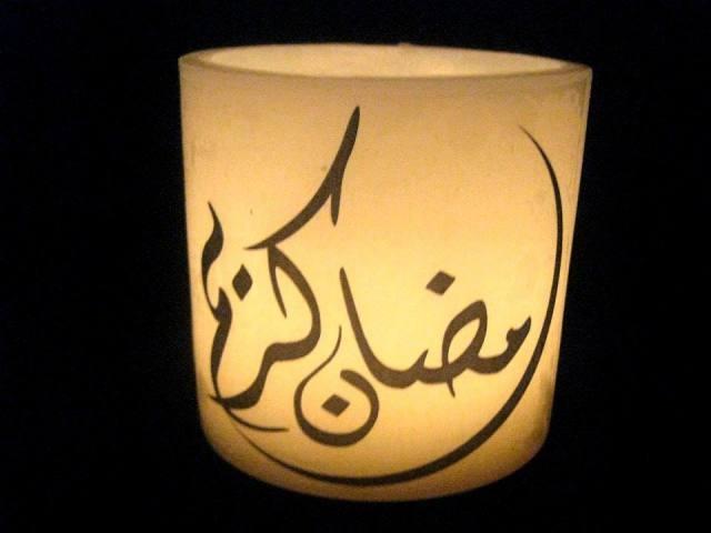 شموع رمضان لرسم لمسة روحية على ديكور المنزل