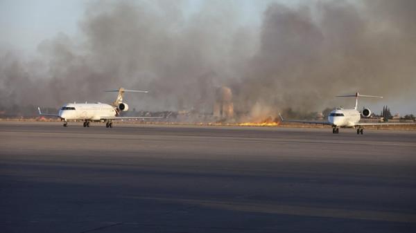 اندلاع أعنف مواجهات بمطار طرابلس
