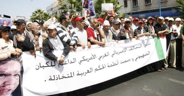 بعد مسيرة الرباط.. الدار البيضاء تنتفض للتنديد بالتقتيل ووقف العدوان الإسرائيلي على غزة