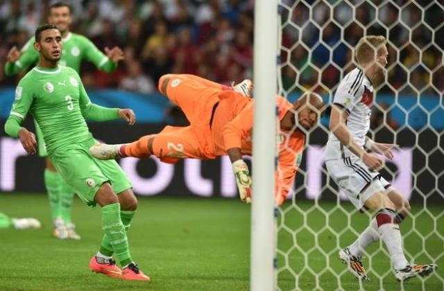 الجزائر تخسر أمام ألمانيا بشرف