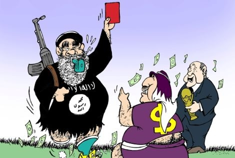 """""""داعش"""" ترفض تنظيم كأس العالم بقطر"""