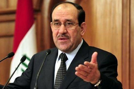 المالكي يتهم الأكراد وشركائه في العملية السياسية