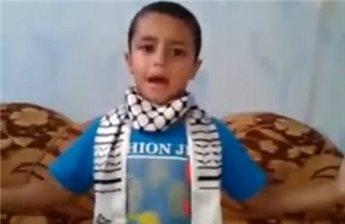 رسالة مؤثرة الطفل الشهيد من غزة