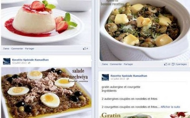 الجزائريات يقبلن على مواقع التواصل الاجتماعي لاستلهام الوصفات الرمضانية