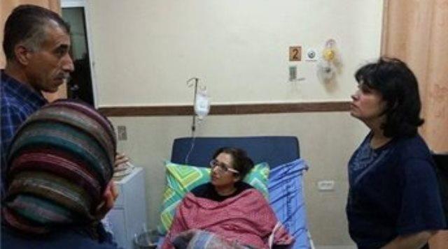 اصابة وزيرة فلسطينية برصاص الاحتلال
