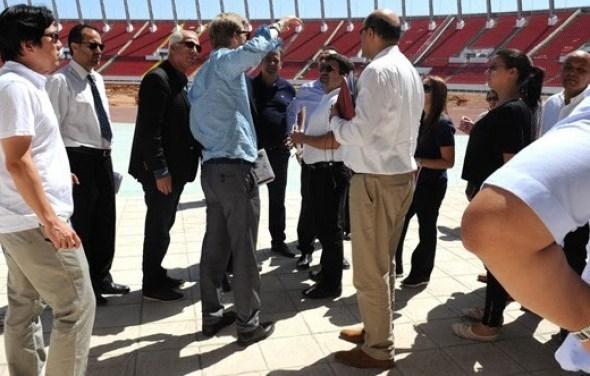 لجنة من الفيفا تختتم زيارتها لملاعب المغرب
