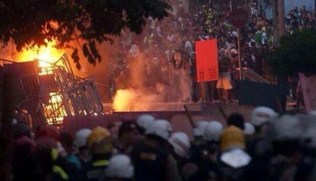أعمال شغب خطيرة في البرازيل بعد الخسارة