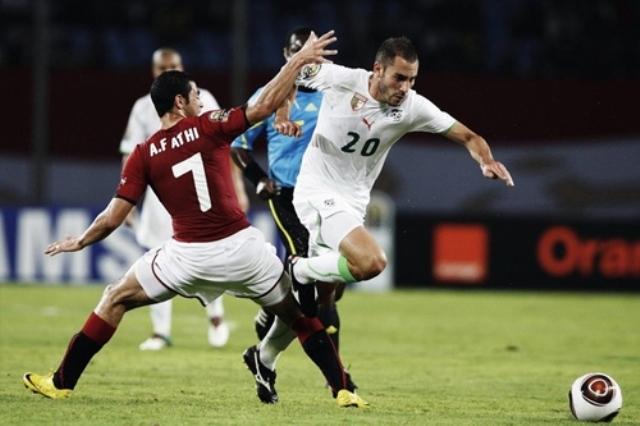 المنتخب الجزائري يقابل نظيره المصري وديا