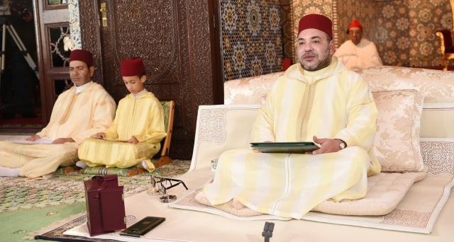 العاهل المغربي يترأس افتتاح الدروس الحسنية بموضوع
