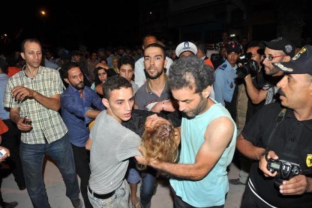 قتلى وجرحى في انهيار ثلاث عمارات في الدار البيضاء وعمليات الإغاثة متواصلة  وسط  الأنقاض