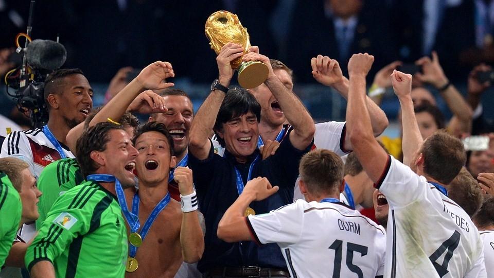 المنتخب الألماني في  المركز الاول عالميا