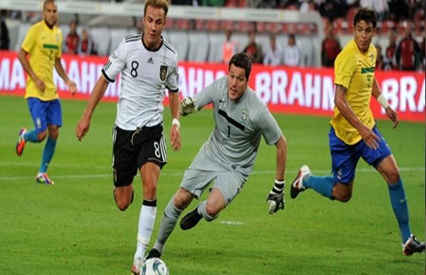 مباراة نارية بين البرازيل وألمانيا في نصف النهائي