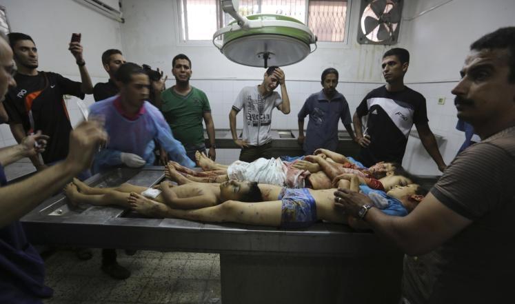 سقوط شهداء بعد قصف مستشفى بغزة