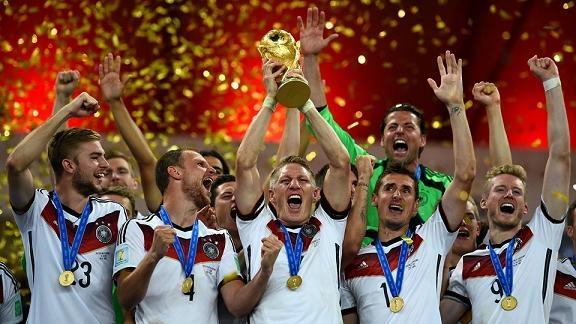 ألمانيا تحسم لقب المونديال أمام الأرجنتين
