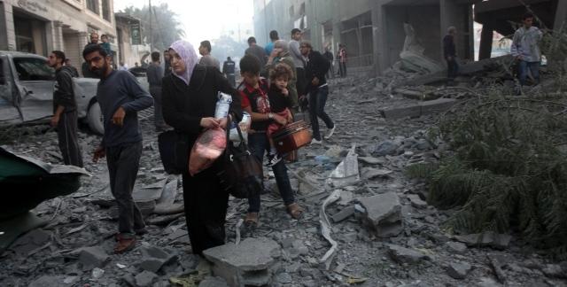 الدعوة لإقامة ممر إنساني في قطاع غزة