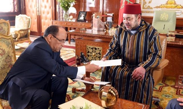 العاهل المغربي يستقبل مبعوث الرئيس الموريتاني